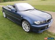 2004 BMW 318CI SPORT CONVERTIBLE BLUE for Sale