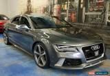 Classic 2014 Audi RS7 4G MY14 Sportback Tiptronic quattro Daytona Grey Automatic 8sp A for Sale