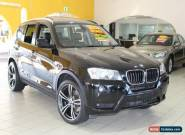 2011 BMW X3 F25 xDrive20d Black 8 AUTOMATIC Wagon for Sale