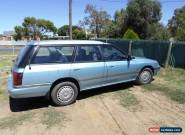 1990 Subaru liberty wagon awd  for Sale