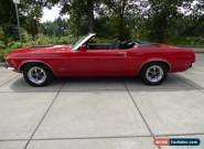 1970 Ford Mustang  Convertible No Reserve for Sale