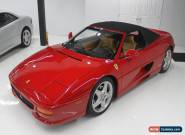 Ferrari: 355 F1 SPIDER for Sale