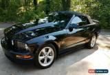 Classic 2007 Ford Mustang GT Convertible 2-Door for Sale