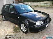 2001 51 VOLKSWAGEN GOLF 1.6 SE IN BLACK 5 DOOR for Sale
