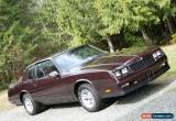 Classic 1986 Chevrolet Monte Carlo for Sale