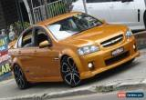Classic 2010 Holden Commodore VE MY10 SS Wildfire Manual 6sp M Sedan for Sale