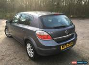2005 VAUXHALL ASTRA DESIGN TWINPORT  GREY 1.6 AUTOMATIC 5 DOOR HATCH for Sale