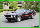 Classic 1969 Ford Mustang Mach 1 for Sale