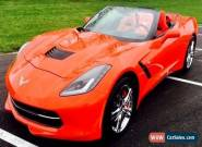 2016 Chevrolet Corvette 2 DOOR CONVERTIBLE for Sale