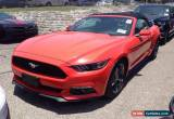 Classic 2016 Ford Mustang V6 Convertible 2-Door for Sale