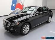 2017 Mercedes-Benz E-Class for Sale