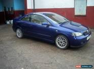 2003 VAUXHALL ASTRA BERTONE EDITION 100 BLUE for Sale