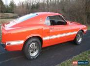 1969 Ford Mustang Shelby GT500 for Sale
