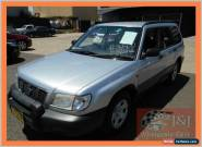 2001 Subaru Forester MY01 Limited Grey Automatic 4sp A Wagon for Sale