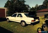Classic Mercedes-benz 190 E (1985) 4D Sedan Automatic (2L - Electronic F/INJ) Seats for Sale