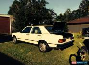 Mercedes-benz 190 E (1985) 4D Sedan Automatic (2L - Electronic F/INJ) Seats for Sale