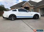 2010 Ford Mustang GT 500 for Sale