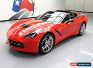 2014 Chevrolet Corvette Z51 Coupe 2-Door for Sale