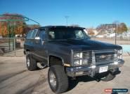 1981 Chevrolet Blazer 2 DOOR for Sale