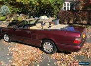 1995 Mercedes-Benz E-Class Base Convertible 2-Door for Sale