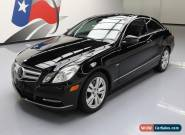 2012 Mercedes-Benz E-Class Base Coupe 2-Door for Sale