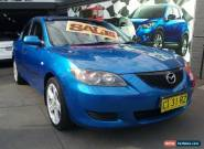 2004 Mazda 3 BK Neo Blue Automatic 4sp A Sedan for Sale