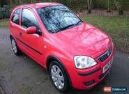 2004 VAUXHALL CORSA LIFE 1.0 TWINPORT RED  for Sale