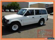 1995 Mitsubishi Pajero NJ GLS LWB (4x4) White Manual 5sp M Wagon for Sale