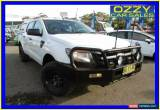 Classic 2013 Ford Ranger PX XL 3.2 (4x4) White Automatic 6sp A Dual Cab Utility for Sale