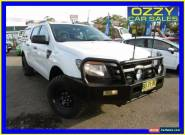 2013 Ford Ranger PX XL 3.2 (4x4) White Automatic 6sp A Dual Cab Utility for Sale