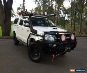 Classic 2011 Toyota Hilux KUN26R SR White Manual M Cab Chassis for Sale