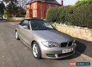BMW 2dr 1 SERIES CONVERTIBLE 2.0 118d Sport 62400 Miles  for Sale