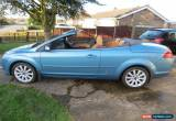 Classic Blue Ford Focus CC 2.0 Manual Diesel 2007 for Sale