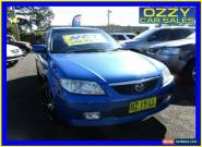 2003 Mazda 323 Protege Blue Manual 5sp M Sedan for Sale