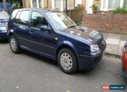 VW GOLF 2001 PETROL 1.6 LOW MILEAGE for Sale