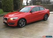 BMW 220D 2014 SPORT AUTOMATIC COUPE , THEFT RECOVERED VEHICLE WITH KEYS  for Sale