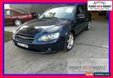 Classic 2003 Subaru Liberty B4 Safety Pack Blue Manual M Wagon for Sale