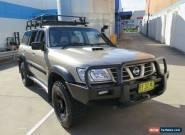 2003 Nissan Patrol GU III MY2003 ST Gold Manual 5sp M Wagon for Sale