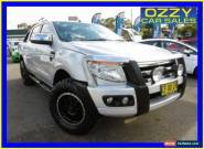 2012 Ford Ranger PX XLT 3.2 (4x4) Silver Automatic 6sp A Dual Cab Utility for Sale