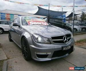 2012 Mercedes-Benz C63 W204 MY12 AMG Metallic Grey Automatic 7sp A Coupe