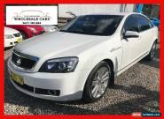 2007 Holden Statesman WM V6 White Automatic 5sp A Sedan for Sale