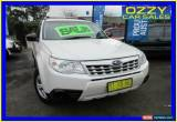 Classic 2011 Subaru Forester MY10 X White Automatic 4sp A Wagon for Sale