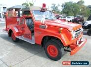 1979 Toyota Landcruiser Fire Truck Deluxe (4x4) Red Manual 4sp M Wagon for Sale