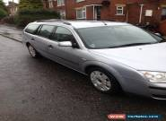 2004 FORD MONDEO LX TDCI 130 SILVER for Sale