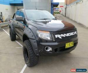 Classic 2012 Ford Ranger PX XL Black Manual 6sp M 4D UTILITY for Sale