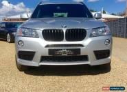 2012 62 BMW X3 2.0 XDRIVE20D M SPORT 5D AUTO DIESEL for Sale