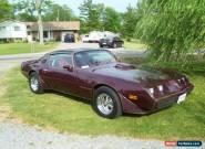 Pontiac: Trans Am Firebird for Sale