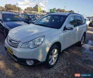 Classic 2011 Subaru Outback MY11 2.5I White Automatic A Wagon for Sale