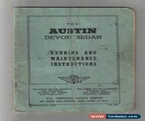 Classic Austin for Sale