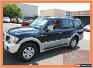 2003 Mitsubishi Pajero NP Exceed LWB (4x4) Black Automatic 5sp A Wagon for Sale